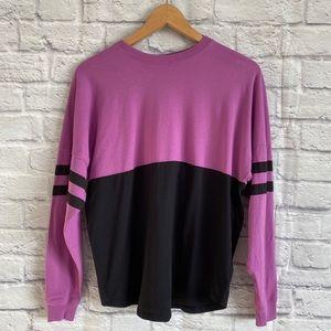 4/$20🍄 BALERA Dance Wear Purple Black Jersey Top